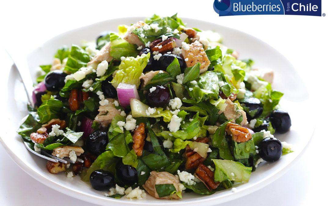 Blueberry Chicken Chopped Salad