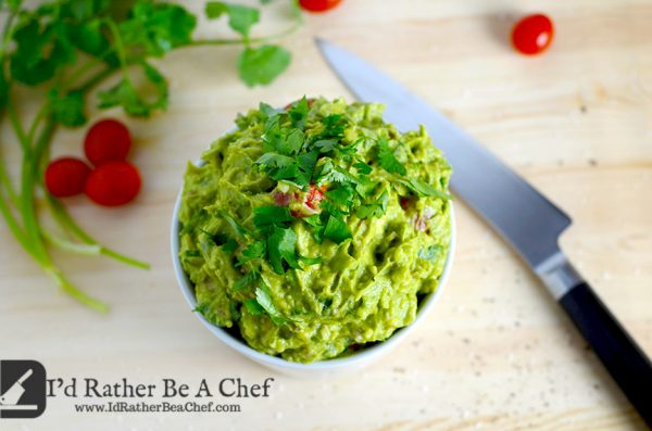 Id Rather Be a Chef Easy Guacamole