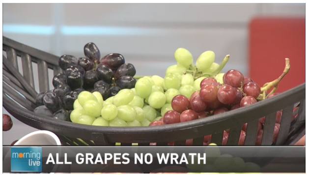 Grapes on CHCH