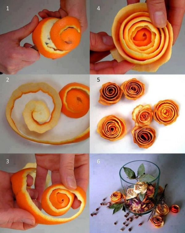 orange peel flowers