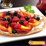 Chilean Fresh Fruit Pizza