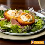 Roasted Chilean Peach and Nectarine Salad