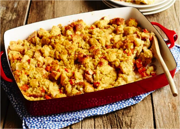apple sage cornbread stuffing sweet potato chronicles