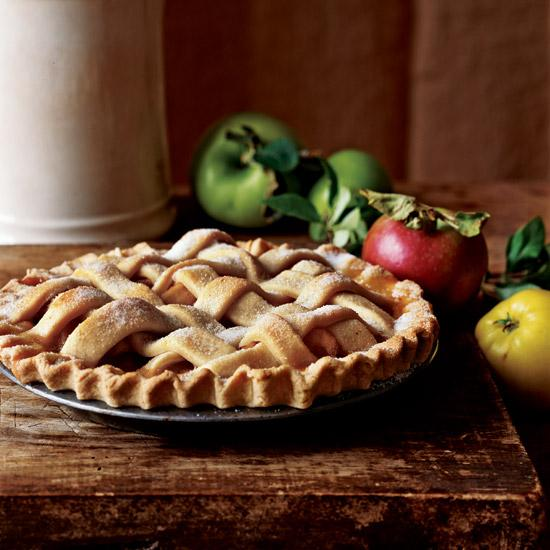 lattice apple pie food and wine