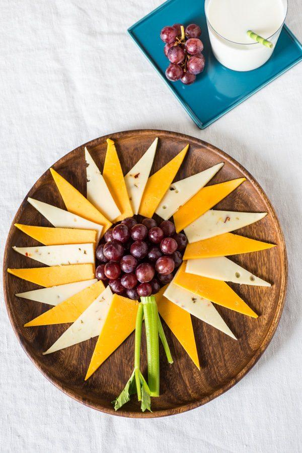 Grape Cheese Sunflower