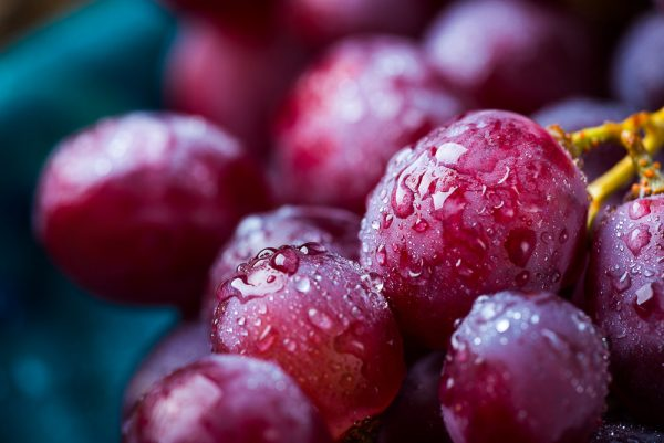How to prepare grapes