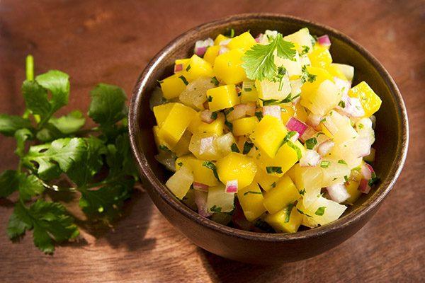 mango pineapple cilantro salsa ss