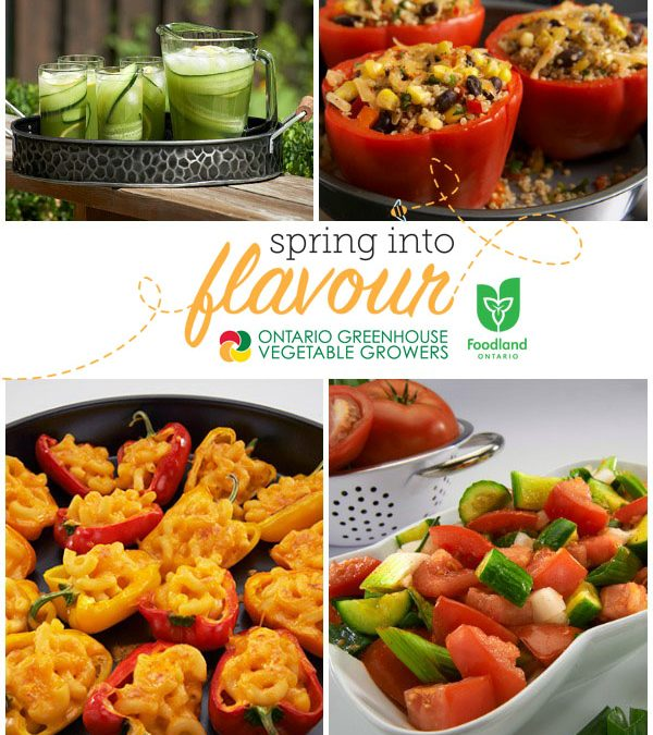 Spring into Flavour with Ontario Greenhouse-Grown Produce!