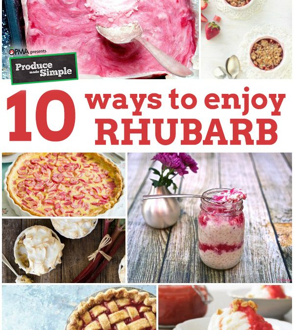 10 Way to Enjoy Rhubarb This Spring