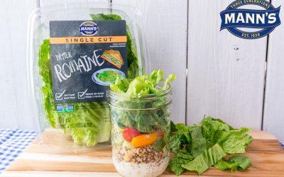 Vegetarian Mason Jar Salad