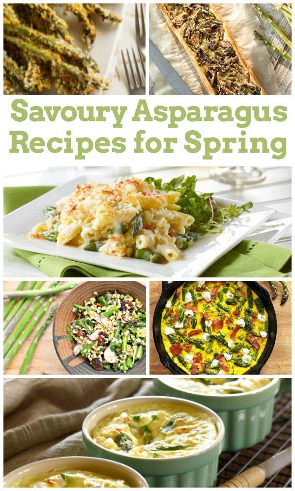 Savoury Asparagus Recipes for Spring