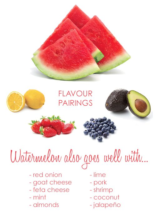What Goes Well With Watermelon?