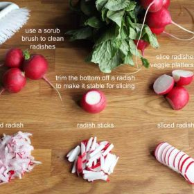 How To Prepare Radishes