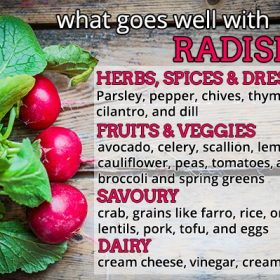 What Goes Well With Radishes?