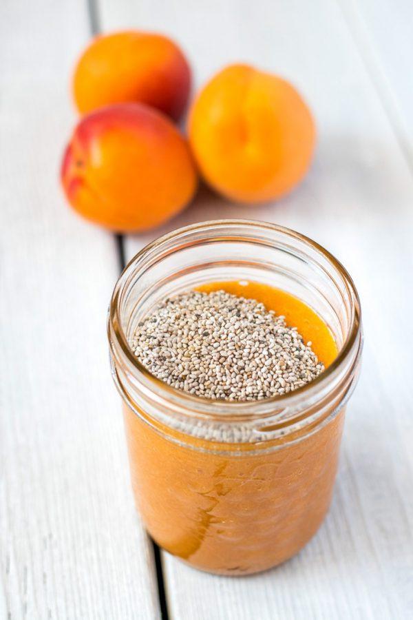 Raw Refrigerator Apricot Jam
