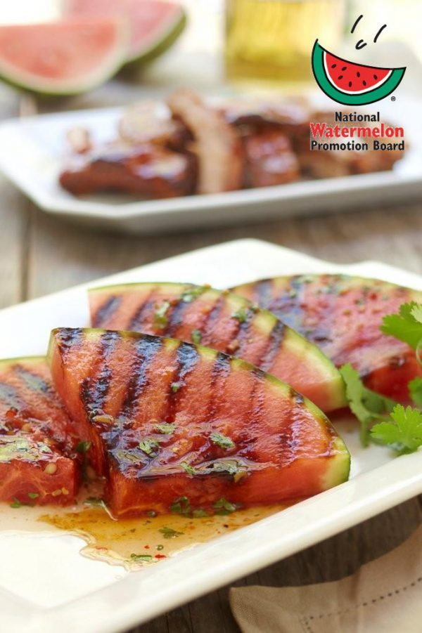 This grilled watermelon changes from sweet to savoury with this mouth ...