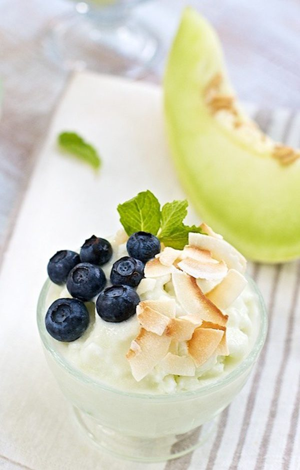 Honeydew Melon Sherbet