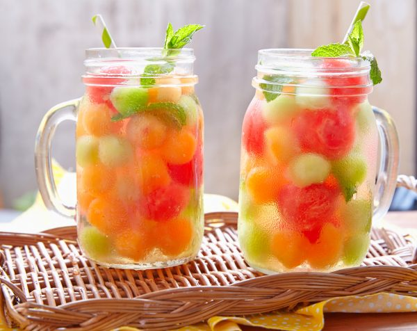 Melon Infused Water