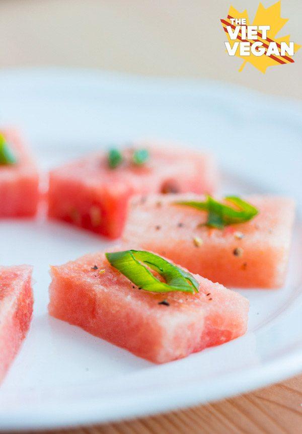 Watermelon Chili Salt Amuse-Bouche