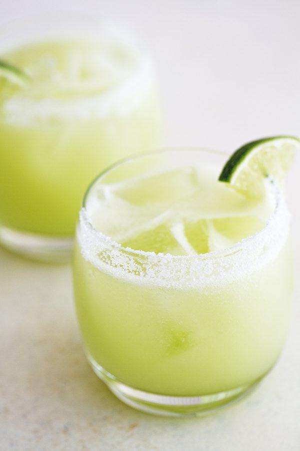 Honeydew Lime Margaritas