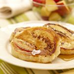 Ontario Peach and Ricotta Pancakes sm