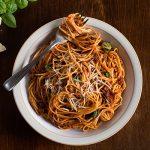 Mushroom Spaghetti Bolognese