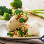 Broccoli Teriyaki Wrap