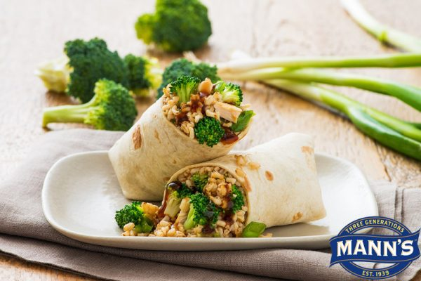 Broccoli Teriyaki Wrap