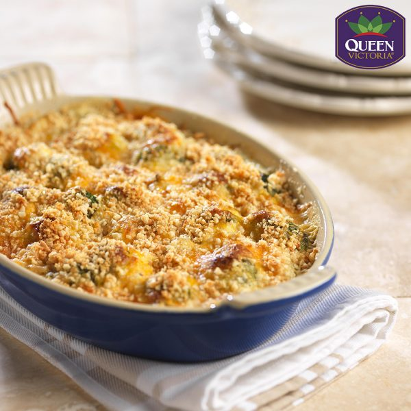 Gluten-Free Brussels Sprouts Gratin