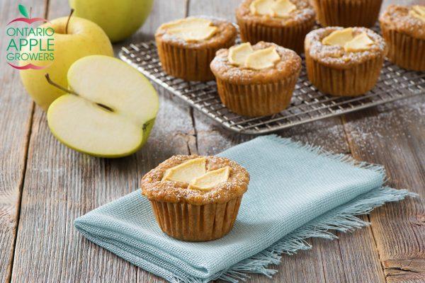 Spiced Caramel Apple Cupcakes