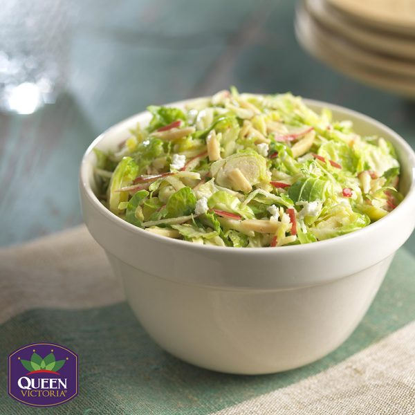 Tangy Brussels Sprouts Slaw