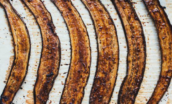 Eggplant Dragon Roll