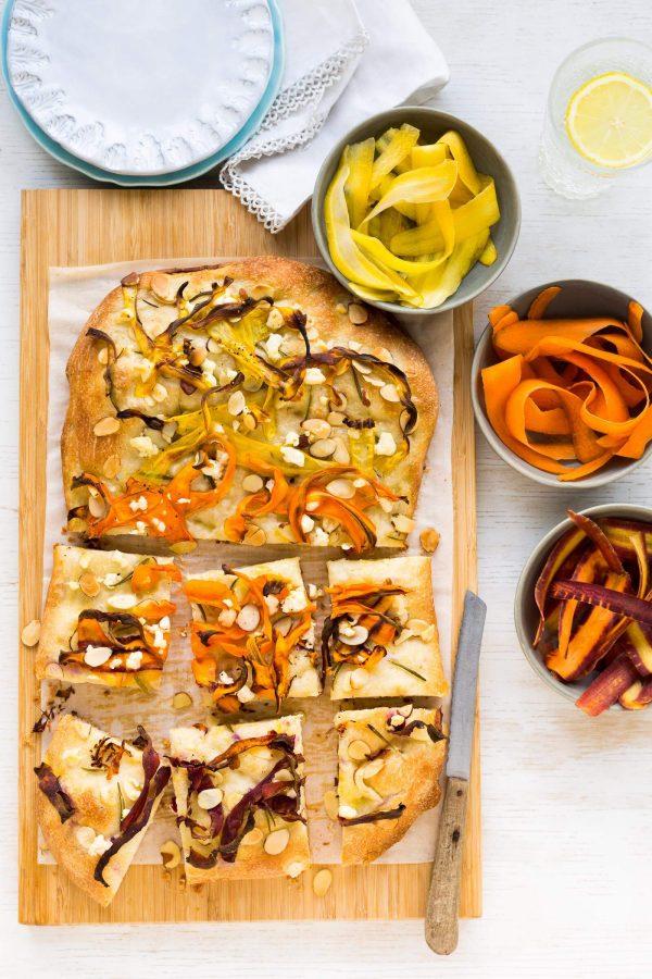 Carrot Focaccia Recipe | Produce Made SImple