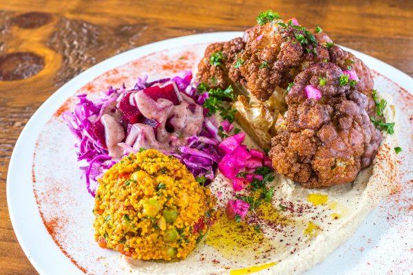 Lebanese-Style Fried Cauliflower with Sumac Vinaigrette