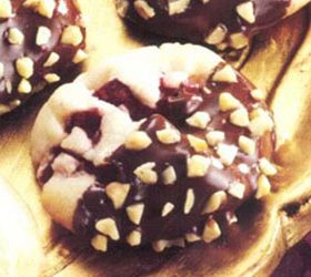Chocolate Dipped Cranberry Cookies | Recipe from Ocean Spray