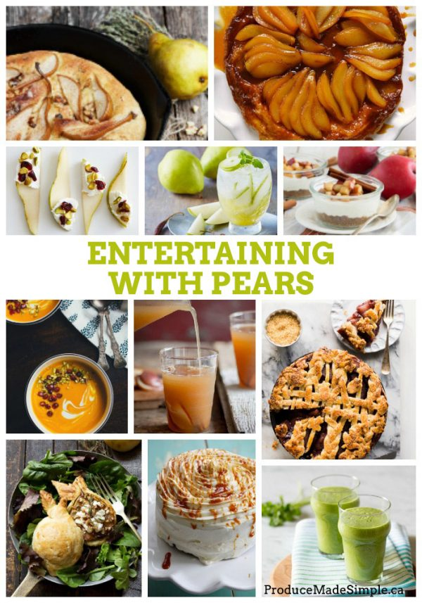 Cooking and Baking with Pears