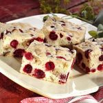 Cranberry Nut Bars | Recipe from OceanSpray