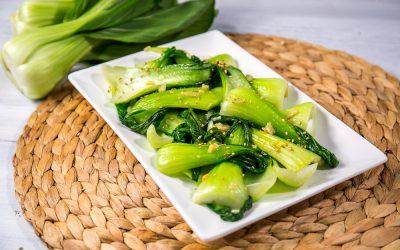Garlic Stir Fried Bok Choy