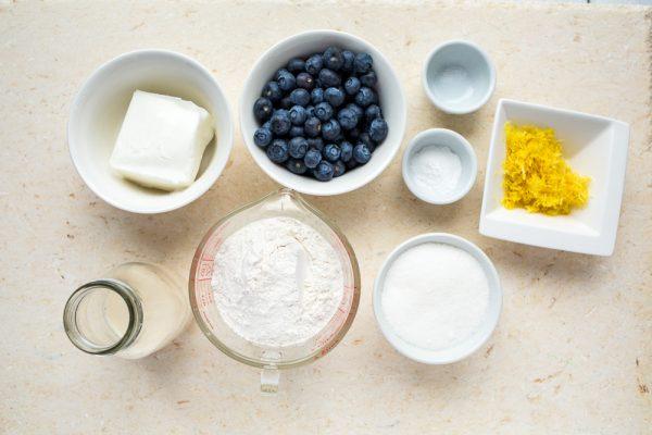 Vegan Blueberry Lemon Loaf | Produce Made Simple