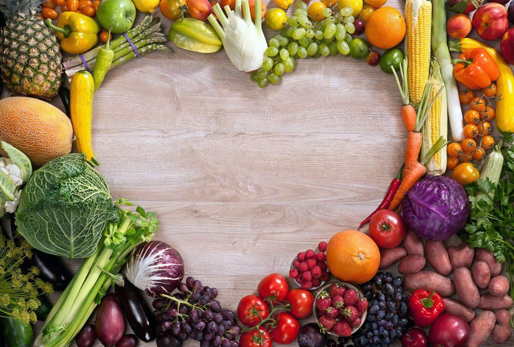 Boost Your Heart Health with Veggies and Fruit