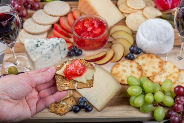 How to Build a Cheese Platter with Fruits from Chile