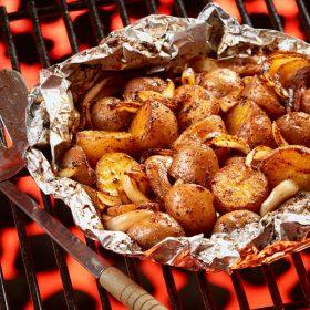 Cajun Grilled Ontario Potatoes