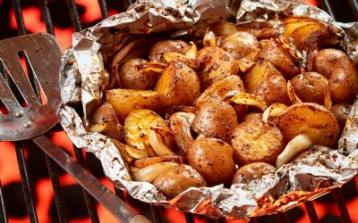 Cajun Grilled Ontario Potatoes