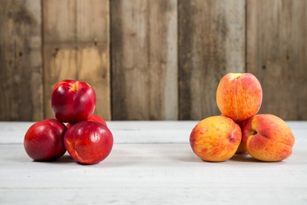 Whats the difference between peaches and nectarines?