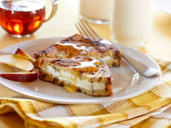 Apple Stuffed French Toast