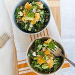 Quinoa Kale & Orange Salad