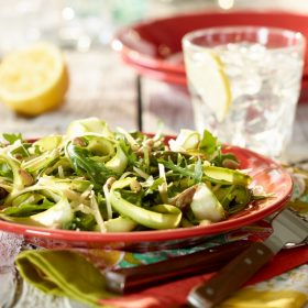 Shaved Ontario Asparagus Salad