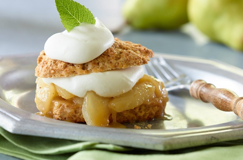 Spiced Pear Shortcakes