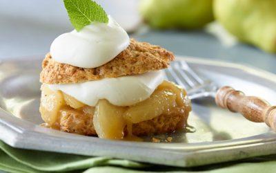 Spiced Pear Shortcakes