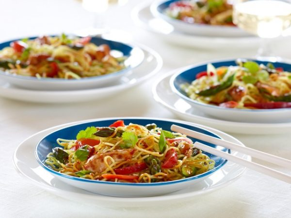 Stir-Fried Noodles with Asparagus